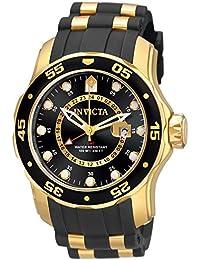 Invicta 6991 Pro Diver - Scuba Montre Homme acier inoxydable Quartz Cadran noir