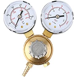 Binghotfirefr MINI Régulateur de pression pour gaz de protection Argon/CO2 vers MIG/MAG/TIG poste de soudure à gaz Manomètre Poste de soudure
