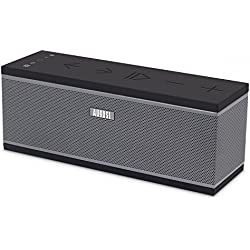 Enceinte Stéréo WiFi Multiroom – August WS150G – Haut-Parleurs Sans-Fil Wi-fi et Bluetooth – Compatible Airplay / Spotify / Tidal / Tune In / iHeart Radio / DLNA - 10W avec Radiateur Passif