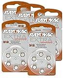 RAYOVAC Hörgeräte-Batterien 312 Extra Advanced 1,45V 180 mAh, 5x 6er Sparpack