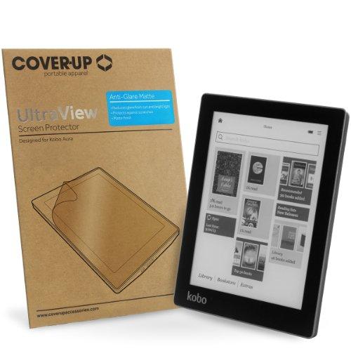 Cover-Up UltraView Anti-Glare Matte Screen Protector / Displayschutz für Kobo Aura eBook Reader (Pas