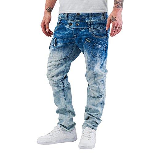 Cipo & Baxx Homme Jeans / Jeans Straight Fit Sew Bleu