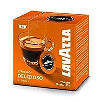Lavazza a modo mio Deliziosamente, 16capsule: ben arrotondati, liscio e aromatico. Un caffè particolarmente equilibrato di aroma, resistenza e non un pizzico di amarezza. Questo ben arrotondati miscela produce un caffè che è perfettamente fo...
