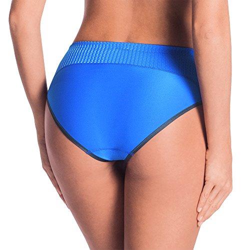 Anita Active Damen Sportunterhose Sport Taillenslip+ Blau (blue 256)