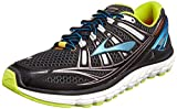 Brooks Trascendent - Zapatillas de running para hombre, color black/bachelorbutton/lime, talla 44