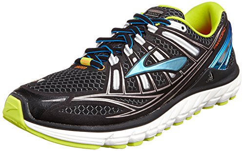 Brooks Trascendent - Zapatillas de running para hombre, color black/bachelorbutton/lime, talla 42.5