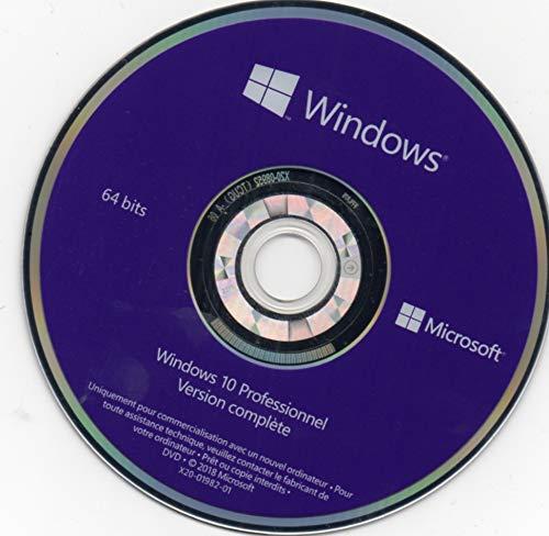 Windows 10 Pro DVD restore