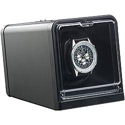 St. Leonhard Uhrbeweger: Uhrenbeweger für Automatik-Armbanduhren, Drehrichtung & Dauer wählbar (Uhrenbeweger Automatikuhr)