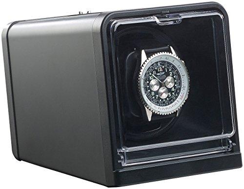 St. Leonhard Uhrbeweger: Uhrenbeweger für Automatik-Armbanduhren, Drehrichtung & Dauer wählbar (Uhrenbox)