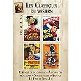 Coffret 4 DVD Les Classiques Du Western : L'Attaque de la caravane (Fighting Caravans), À l'ouest des montagnes (West of the divide), Sous le soleil d Arizona (Neath Arizona Skies), La Piste de Santa Fe (Santa Fe Trail)