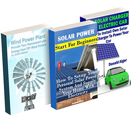 Off-Grid Energy: Halve Your Electricity Bills With Solar Panels And Wind Power Plant: (Energy Independence, Lower Bills & Off Grid Living) (English Edition)