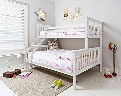 Hanna Triple Bed in White Bunk Kids Bed Noa & Nani