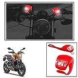 #7: Vheelocityin 2+2 Led Red Bike Light with Flashing Mode Motorcycle LED For Ktm Duke 200