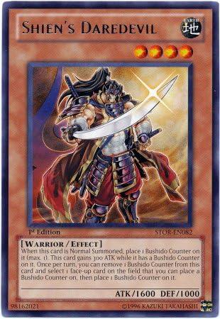 Yu-Gi-Oh! - - - Shien's DaRouge evil (STOR-EN082) - Storm of Ragnarok - 1st Edition ... | élégante  1a2ce0