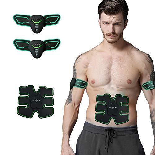 EMS Electroestimulador Muscular, Etiquetas engomadas del Entrenamiento del músculo Abdominal casero...