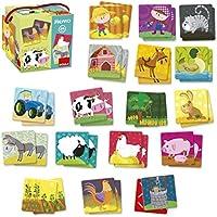 Goula - Memo granja, 34 piezas (Diset 53414)