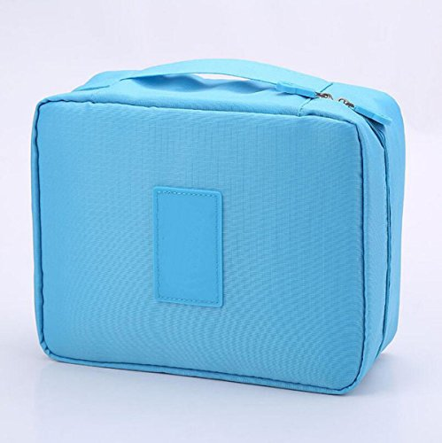 Sac De Lavage Sac à Cosmétiques Voyage Grand Sac De Stockage De Capacité De Stockage Multifonction Paquet,Blue2