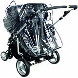 Harmatex 803300 - Burbuja de lluvia para silla de paseo doble