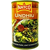 Natco - Undhiu Curry - Curri de verduras picante - 450 g - Pack de 2 unidades