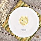 Teller Kinderteller Melaminteller Kunststoffteller Dreamchen Sonne