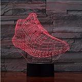 Fushoulu 3D Sneaker Schuhe Led-Licht Kinder Leuchtende Spielzeug Jungen Mädchen Baby 7 Farben Blinkende Lichter