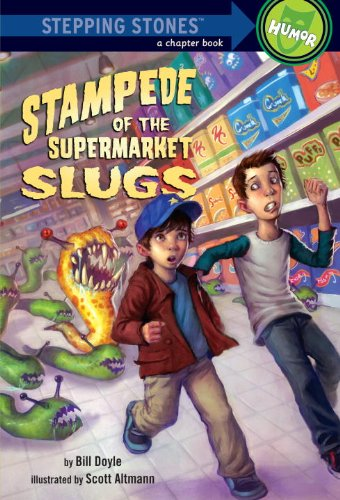 Stampede of the Supermarket Slugs (A Stepping Stone Book(TM)) (English Edition)