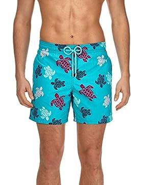 VILEBREQUIN Bañador con Estampado Multicolor Turtles para Hombre