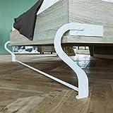 Schrankbett 160 cm Vertikal Komfort Lattenrost SMARTBett Farbauswahl Schrankklappbett & Wandbett Eiche Sonoma