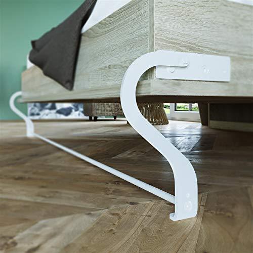 Schrankbett 160 x200 Vertikal Eiche Sonoma mit Gasdruckfedern, ideal als Gästebett – Wandbett, Schrank mit integriertem Klappbett, Schrankklappbett & Wandbett, SMARTBett - 6