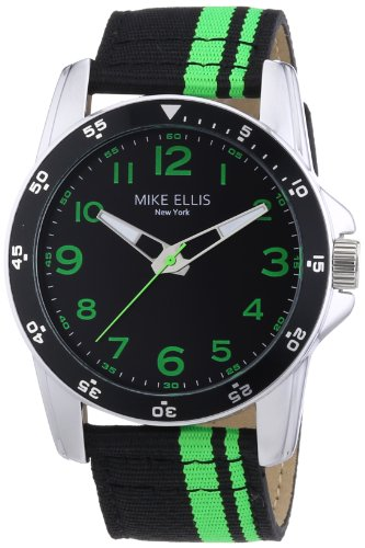MIKE ELLIS NEW YORK M3145 - RELOJ DE PULSERA HOMBRE  TELA  COLOR MULTICOLOR