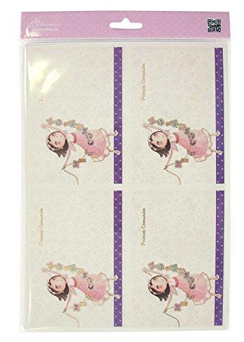 Edima-Tasche Von 20Einladungen Und Über Pink meiner Erstkommunion DIY (413728-b)