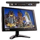 10 Inch (25,4cm) Monitor für Überwachungskamera von Zoter, Bildschirm, 1280x800, BNC, VGA, HDMI, AV, Video-Eingang