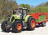RC Traktor CLAAS Axion 870 + Anhänger in XL Länge 78cm