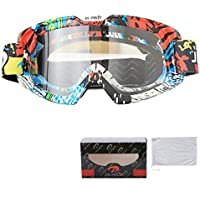 Aooaz Motorcycle Goggles Riding Padded Glasses Photochromic Adjustable Strap Outdoor Accessory
