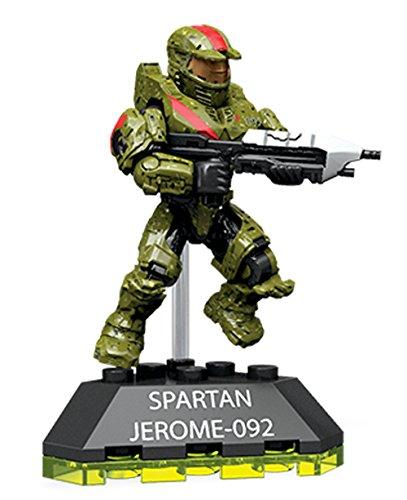 Mattel Mega Bloks Construx - Halo DXR50 Legendary Heroes Serie 3 - Spartan Jerome Figure Figur Halo Mega Bloks Fireteam Crimson