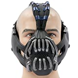 Halloween Maske Bane Cosplay Herren Erwachsene Gesicht Masken Kostüm Stütze für Fancy Dress Karneval Party 1st Version