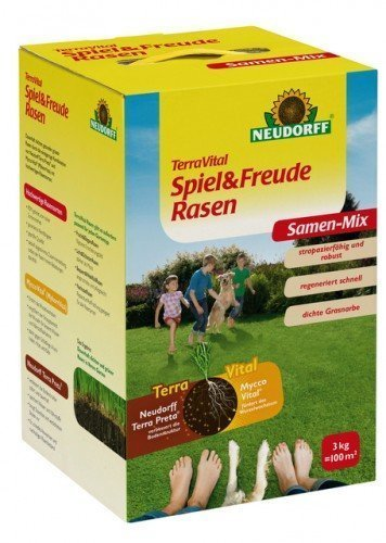 NEUDORFF - TerraVital Spiel & Freude Rasen - 3 kg