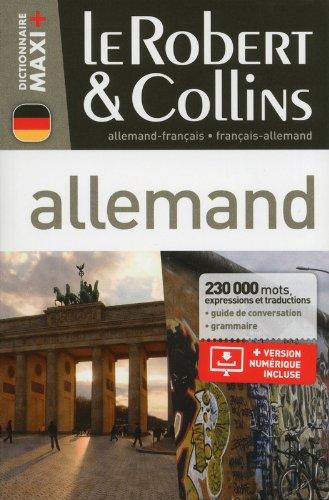 Dictionnaire Le Robert & Collins Maxi Plus allemand par Collectif