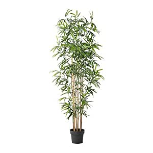 Ikea fejka plante en pot artificielle bambou 21 cm for Ikea plante artificielle