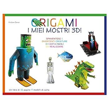 Origami. I Miei Mostri 3D! Ediz. Illustrata. Con Gadget