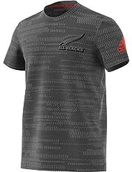 adidas AB Perf TEE of Camiseta All Blacks, Hombre, Gris (Grpudg / Granit / Energi), L