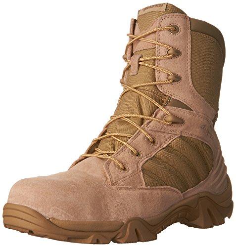 Bates Mens GX-8 Comp Toe Side Zip Work Boot Desert