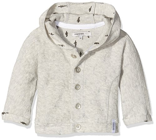 Noppies Unisex Baby Strickjacke U Cardigan Sweat Alton, Beige (Sand Melange C027), 50