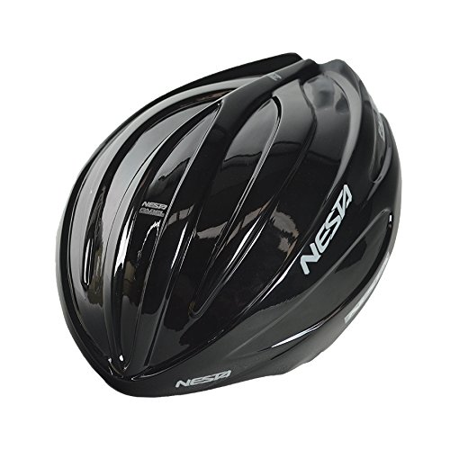Nesta Fabel aero Schutzhülle für den Helm, Unisex Erwachsene Einheitsgröße schwarz Gloss -