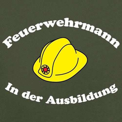 Feuerwehrmann in der Ausbildung - Herren T-Shirt - 13 Farben Olivgrün