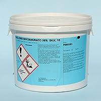 cubex professional Dicloro 56% Cloro granulare Pulizia igiene Manutenzione Acqua Piscina kg 5