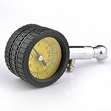 oxgrow (TM) para coche medidor de presión de neumáticos Michelin 60PSI profesional mecánico auto bicicleta motocicleta neumático medidor de presión de aire comprobador de vehículo