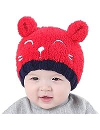 BBsmile bebé sombrero bebé Kids Boy Girl Lovely suave sombrero gorro de  lana sombrero Hemming a2b5dc125bc