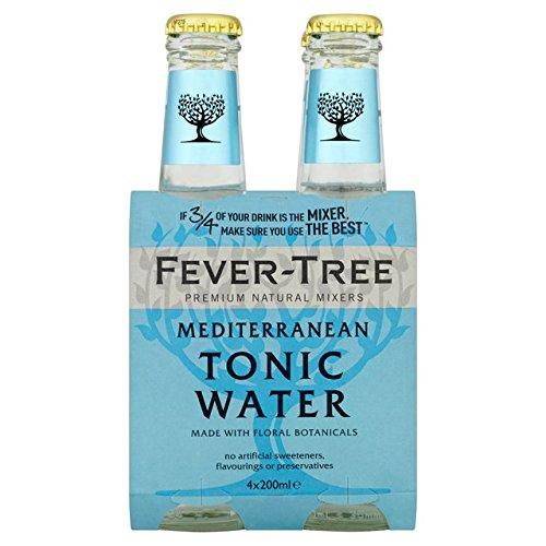 Fever Tree Mediterranean Tonic Water 4 x 0,2 Liter