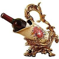 TDPYT Estante del Vino De La Sala De Estar/Ornamentos De La Decoración del Gabinete del Vino/Estante del Vino De La Resina